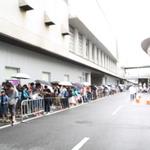 【TGS 2014】一般公開日初日、入場待ちの列がすごい!開場直後の入場列を動画レポの画像