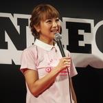 【TGS 2014】スマホゲームを遊んでプレイ動画を投稿! タレントの鈴木奈々さんも参戦したCyberZブースレポート