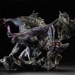 『MH4』より黒蝕竜「ゴア・マガラ」が「カプコンフィギュアビルダー クリエイターズモデル」に登場
