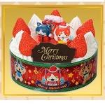 クリスマスでも一苦労しそう…「キャラデコ クリスマス」予約は明日から!『妖怪ウォッチ』(メダル付)は抽選販売に