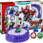 別売りNFCフィギュアと連動『仮面ライダー サモンライド!』Wii U/PS3で発売 ― 「仮面ライダードライブ」も登場
