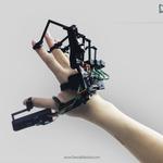 片手に装着する外骨格VRデバイス、その近未来感溢れるテスト映像が公開