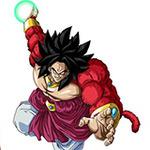 『ドラゴンボールヒーローズ』稼働4周年記念、オリジナルキャラクター「ブロリー超サイヤ人4」爆誕
