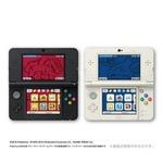 ポケモンセンターオリジナルのNew 3DS「グラードン/カイオーガエディション」に付属するテーマが初公開