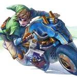 『マリオカート8』DLCで登場する、リンクと馬型バイクのイメージ画像が公開…マリカーでもリンクはかっこよかった