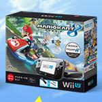 """本体カラー""""クロ""""復活!Wii Uと『マリオカート8』がセットになった数量限定パックが登場"""