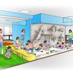 子供たちに砂遊びを・・・ナムコ、百貨店に「砂場」を展開