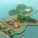 『マリオカート8』DLC第一弾にGC版「ヨッシーサーキット」収録決定! ヨッシー型のコースを動画で確認