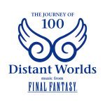 「Distant Worlds: music from FINAL FANTASY THE JOURNEY OF 100」ロゴの画像