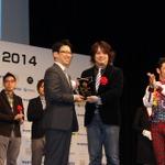 『妖怪ウォッチ』プロジェクトチームが「ベスト・チーム・オブ・ザイヤー2014」に輝く―授賞式では日野社長がようかい体操を披露