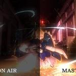 TVアニメ「Fate/stay night」テレビ放映とBD収録の比較画像が公開!鮮明度の差が一目瞭然…