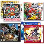 3DSで日本初の快挙!同一ハードで5か月の間に4タイトルがダブルミリオンセラーを達成