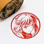 "「Fate/stay night」の""痛印鑑""が登場!全16種で、銀行印としても使用できる"