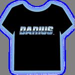 「ダライアス ロゴ T シャツ」の画像