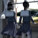 2年ぶりの脱出ホラーシリーズ新作『THE 呪いの廃校舎 ~呪いの仮面と双子の少女~』3DSで配信開始