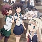 TVアニメ「艦これ」Blu-ray&DVD第1巻の発売日決定! 限定版の詳細や先行試写、第二回 観艦式などの新情報も