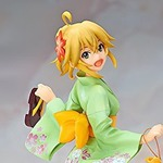 FREEingよりアニメ「アイマス」の星井美希 浴衣Ver.フィギュアが登場、浴衣シリーズも展開予定