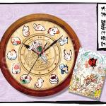 商品化決定!「大神 壁掛け時計」の画像