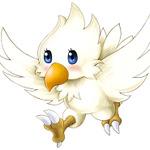 召喚獣「白チョコボ」の画像