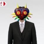 岩田社長が「ムジュラの仮面」をかぶる!?公式ツイッターで素材画像が配布