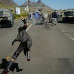 『FF15』のバトルシステム「アビリティ」や「瞬間移動」を解説!ベヒーモスとの遭遇もの画像