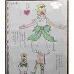 『SAGA2015』ハート型ヘアクリップをつけた彼女は何者? 小林智美のラフ画が公開に