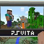 PS Vita『マインクラフト』のパッケージ版が3月発売
