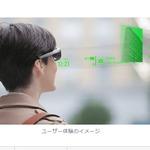 ソニー、透過式メガネ型端末「スマートアイグラス」をアプリ開発者向けに3月より発売