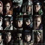 舞台「NARUTO」18人のキャラクター勢揃い!ライブ・スペクタクルに迫力のビジュアル完成