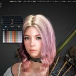 『黒い砂漠』MMO最高水準のキャラメイク詳細が公開…髪の毛のクセや骨格まで自由自在の画像