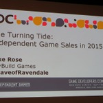 【GDC 2015】デジタル配信、どのプラットフォームが良い? Wii Uや次世代機が狙い目か