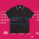 フレッドペリーと「スペースインベーダー」がコラボ!ポロシャツやシューズなどが登場