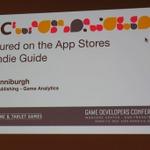 【GDC 2015】App StoreやGoogle Playでフィーチャーされる秘訣は「ビックマック」にあり!?