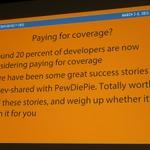 【GDC 2015】実況プレイヤーはゲームの売り上げを伸ばすのか? インディーパブリッシャーの報告の画像