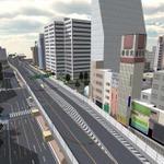 「Japanese Naniwa City」で表示した大阪市なんば駅周辺の画像