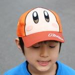 「星のカービィ帽子(メッシュキャップ)」の画像