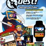Apple Watch向けファンタジーアドベンチャー『WATCH QUEST』発表…時計でゲームをする時代へ