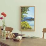 元任天堂社員がデジタル窓「Atmoph Window」を発表、世界中の景色を4Kで映し出すの画像