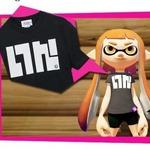 """『スプラトゥーン』Tシャツ6月13日発売、第1弾はあの""""いかTシャツ""""だ"""