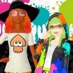 『GIRLS MODE 3』で『スプラトゥーン』コラボアイテムが28日より配信、Tシャツ・パーカー・ニットなど
