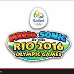 『マリオ&ソニック AT リオオリンピック』発表!Wii Uと3DSで競技が変わる