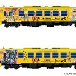ロマ佐賀2ラッピング列車の画像