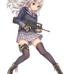 DMMの美少女×ミリタリーSLG『シューティングガール』システムが判明…銃種や登場銃器もの画像