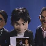 【E3 2015】「Nintendo Digital Event」冒頭に出演の宮本氏や岩田氏のマペットは著名な会社が担当