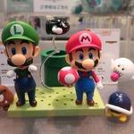 【東京おもちゃショー2015】グッスマブースにはマリオのねんどろいどなどが展示