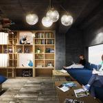 「泊まれる本屋」池袋にオープン…本棚にベッドが埋め込まれたような構造