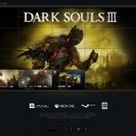 『DARK SOULS III』公式サイトがリニューアル、スクリーンショットなどが追加