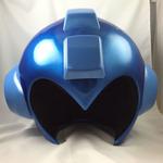 被れる「ロックマン ヘルメットレプリカ」の新たな写真公開、細部の仕様も明らかに
