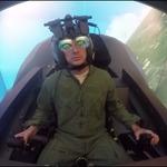 戦闘機「F-35」のシミュレーターがすごい!まるで大型筐体のビデオゲーム