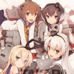700枚限定『艦これ』グラフィックアート第2弾が8月24日予約開始、雪風・島風など4人の駆逐艦娘が描かれたイラストに